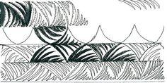 ZT#5 Interleaving1 pattern - zentangle