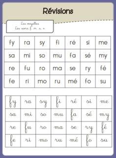 S'entrainer à lire des syllabes   La maîtresse et ses monstrueux   Bloglovin'