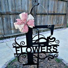 Save 10% Door Hanger Monogram, Wedding Signs, Farmhouse Wreath, Wedding Door Hanger, Front Door Wreath, Housewarming Gift, Wedding Hangers