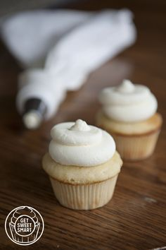 Georgetown Cupcake's recipe for Vanilla Bean Cupcakes with Vanilla Cream Cheese Frosting!