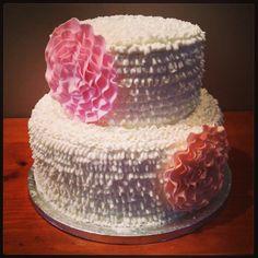 Chabby chic style cake