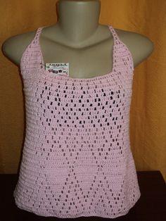 Blusa feita com fio 100 % algodão. R$ 59,90