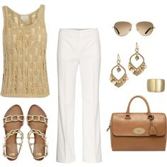 A fashion look from May 2012 featuring M.Patmos tops, MaxMara pants and ASOS sandals. Browse and shop related looks.