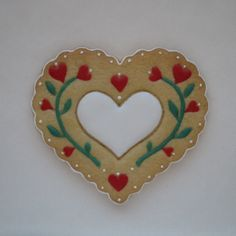 Heart ~  Valentine Sugar Cookie