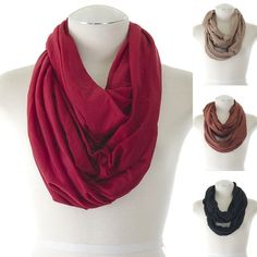 ebclo - Infinity Circle Scarf   $11.00 Free Domestic Shipping