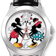 Montre Bécot Mickey et Minnie Mouse en ligne seulement