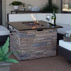 1000 Images About Fire Pit Table On Pinterest Fire Pit