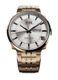 a81fc90b468 TimeZone   Industry News » N E W M o d e l - Mido Big Ben Chronometer L.E.  Mido Uhren