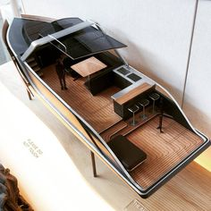 @_codytucker Waited a long time to design a boat and here she is. This is 1/15 scale model of a 40ft luxury boat me and a few friends designed and made. #Boat #Design #luxury