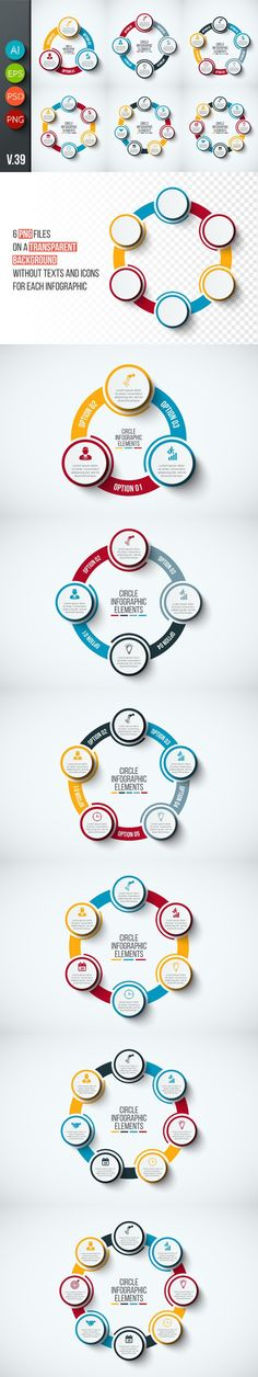 Infographics template set v.39. Business Infographic