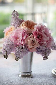 lilacs, roses, peonies