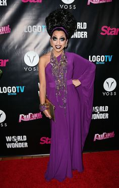 #BiancaDelRio at the #RuPaulsDragRace Season 6 premiere party in L.A.