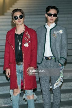 #GDRAGON & #TAEYANG @ Chanel 2015/16 Cruise Collection in Seoul