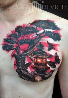 japanese stone lantern tattoo - Google Search