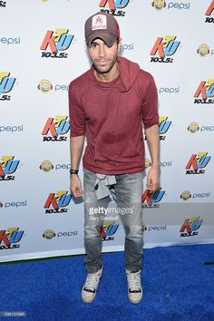 Music artist Enrique Iglesias attends 103.5 KTU's KTUphoria 2016 presented by Aruba, at Nikon at Jones Beach Theater on June 4, 2016 in Wantagh, NY.