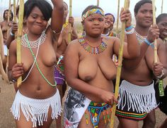 Reed dance maidens zulu