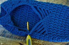 How to crochet adult size ballet slippers