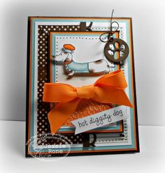 TSG191-Hot Diggity Dog by knightrone - Cards and Paper Crafts at Splitcoaststampers