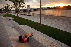The CityDeck in Green Bay, Wisconsin by Stoss Landscape Urbanism