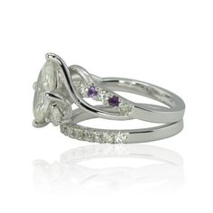 Forever Brilliant Moissanite Engagement Ring by LaurieSarahDesigns
