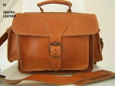 Grafea Leather Camera Bag Satchel Pictures