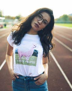 pink Lamacorn T-Shirt unicorn + Lama = Lamacorn !