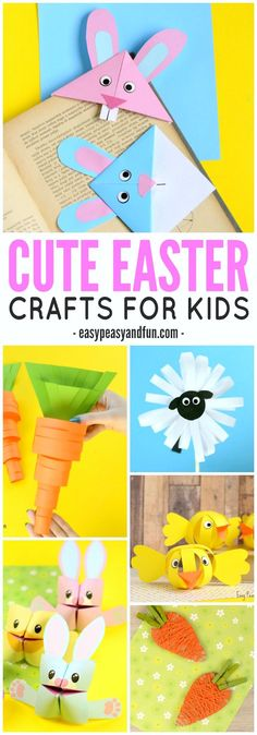Cute Easter Crafts for Kids to Make  {pacifickid.net}