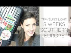 Ultralight Packing: How I Packed for 3 Weeks of Travel in a 12L Bag - YouTube