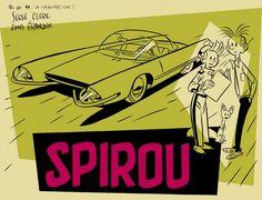 Spirou par Serge Clerc