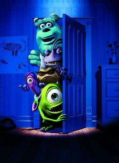 personajes monster inc university - Google Search