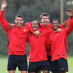 Once upon a time... Manchester United