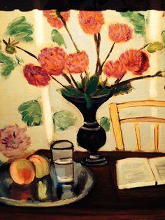 Dahlias. Matisse
