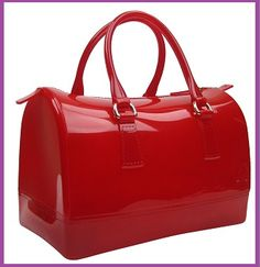 Jelly Satchel in Red