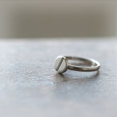 Bolt Ring / Adjustable ring by laonato on Etsy, $15.00
