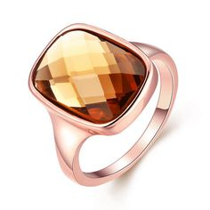 [Eternity Love] Women's Pretty Rose Gold Plated Champange Crystal Engagement Rings Best Promise Rings for Her Anniversary Cocktail Wedding Bands TIVANI Collection Jewelry Rings * Hope that you actually do love our picture. (This is our affiliate link) Crystal Engagement Rings, Engagement Jewelry, Wedding Jewelry, Jewelry Showcases, Promise Rings For Her, Gold Plated Rings, Wedding Rings For Women, Wedding Bands, Pearl Ring