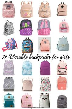 aa654fb847 Back to School! The Cutest Toddler Girl Backpacks