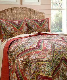 Look at this #zulilyfind! Tangiers Quilt by Scent Sation #zulilyfinds