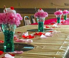 ideas party dance decorations for 2019 Sock Hop Decorations, Diy Party Table Decorations, Dance Decorations, Party Centerpieces, Birthday Decorations, Party Favors, Diy 1950s Decorations, Decoration Party, Centerpiece Ideas