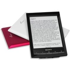 Sony Reader! I like big books and I cannot lie