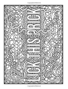 Awesome F*cking Patterns: An Adult Coloring Book with Funny Swear Words, Vulgar Sweary Phrases, and Geometric Pattern Designs for Relaxation and Stress Relief Swear Word Coloring Book, Love Coloring Pages, Printable Adult Coloring Pages, Coloring Books, Mandala Art, Pattern Designs, Stress Relief, Anxiety, Printer