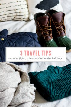 holiday travel tips | airport flying tips | what to know before your flight | flying hacks to save space in your luggage