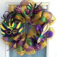 Wreaths Mardi Gras
