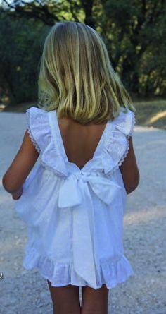 Vestido blanco de estrellas Ancar