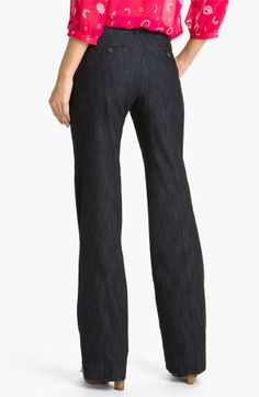Jag Jeans 'Pearl' Trouser Jeans (Dark Storm Wash) available at ...