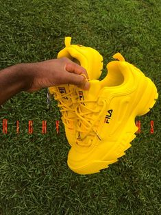 Image of Sun Yellow FILA DISRUPTOR II💛