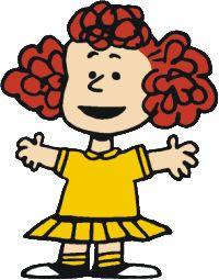 """""""One day, while searching for some kind of new story to work on, I decided to have the character named Frieda. threaten Snoopy with ringing a cat into the neighborhood."""" —Charles M. Schulz on Frieda Peanuts Gang, Comics Peanuts, Peanuts Cartoon, Peanuts Movie, Charlie Brown Characters, Peanuts Characters, Cartoon Characters, Childhood Characters, Fictional Characters"""