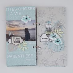 Diy Photo, Mini Albums Scrapbook, Minis, Tampons, Travelers Notebook, Album Photos, Tropical, Paper Crafts, Project Life