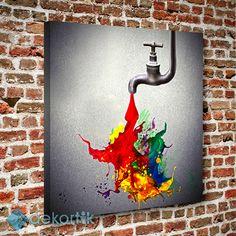 Paint Tablo #dekoratif_kanvas_tablo