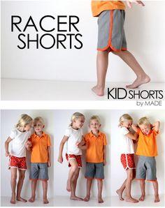 Shorts für Kinder & Kleinkinder nähen                                                                                                                                                     Mehr