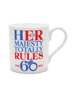 Diamond Jubilee Mug.